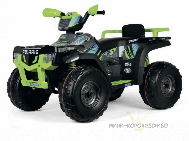 Электромобиль Peg-Pérego Polaris Sportsman 850 Lime